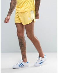 Short jaune adidas