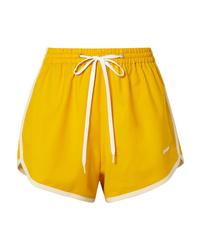 Short jaune Miu Miu