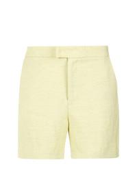 Short jaune Tufi Duek