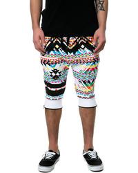 Short multicolore