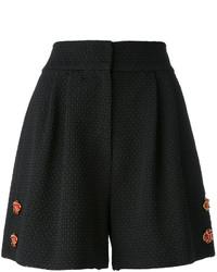 Short orné noir Dolce & Gabbana