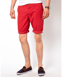Short rouge Ben Sherman