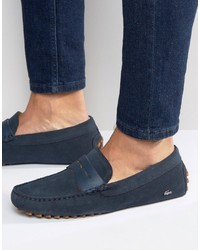 Slippers bleu marine Lacoste