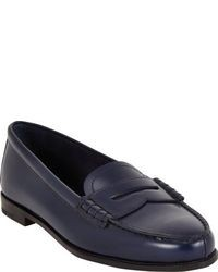 Slippers bleus marine original 1580217