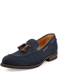 Slippers bleus marine original 525708