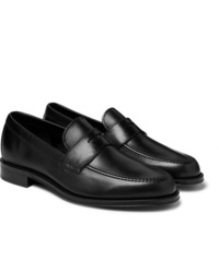 Slippers en cuir noirs Paul Smith
