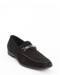 Slippers en daim noirs
