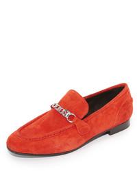 Slippers en daim rouges Rag & Bone
