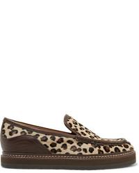 Slippers imprimes leopard original 4127001