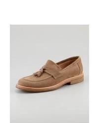 Slippers marron clair