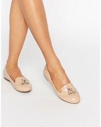 Slippers marron clair Miss KG