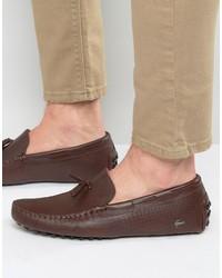 Slippers marron Lacoste