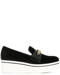 Slippers noirs Stella McCartney