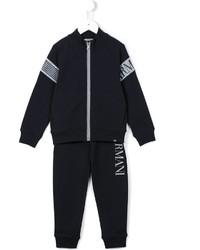 Survêtement bleu marine Armani Junior