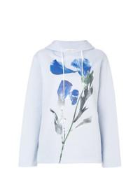 Sweat à capuche à fleurs bleu clair Golden Goose Deluxe Brand