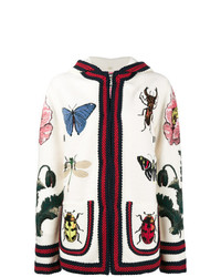 Sweat à capuche à fleurs multicolore Gucci