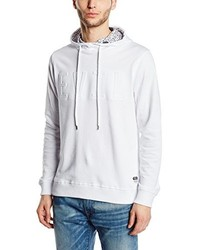 Sweat à capuche blanc Jack & Jones