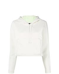 Sweat à capuche blanc Nike