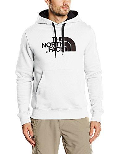 Sweat à capuche blanc The North Face