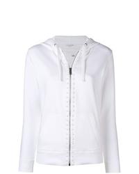 Sweat à capuche blanc Valentino