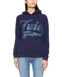 Sweat à capuche bleu marine Juicy Couture