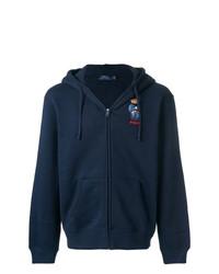 Sweat à capuche bleu marine Polo Ralph Lauren