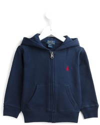 Sweat à capuche bleu marine Ralph Lauren