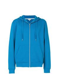 Sweat à capuche bleu Kenzo