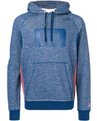 Sweat à capuche bleu Nike
