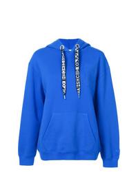 Sweat à capuche bleu Proenza Schouler