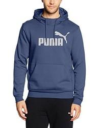 Sweat à capuche bleu Puma