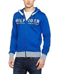 Sweat à capuche bleu Tommy Hilfiger