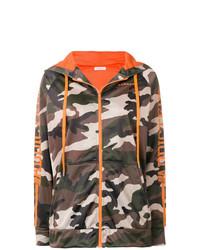 Sweat à capuche camouflage marron P.A.R.O.S.H.