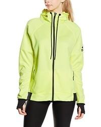 Sweat à capuche chartreuse adidas