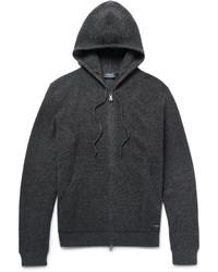 Sweat à capuche en tricot gris foncé Polo Ralph Lauren