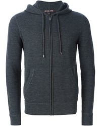 Sweat a capuche gris fonce original 2159871