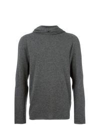 Sweat à capuche gris foncé Calvin Klein