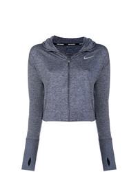 Sweat à capuche gris foncé Nike