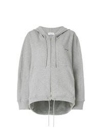 Sweat à capuche gris Balenciaga