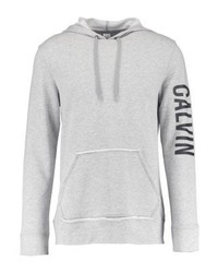Sweat à capuche gris Calvin Klein