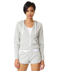 Sweat à capuche gris Calvin Klein Underwear