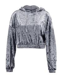 Sweat à capuche gris Even&Odd