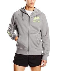 Sweat à capuche gris Nike