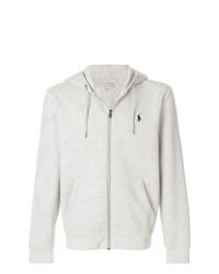 Sweat à capuche gris Polo Ralph Lauren