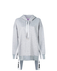 Sweat à capuche gris Stella McCartney