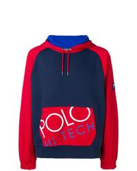 Sweat à capuche imprimé bleu marine Polo Ralph Lauren