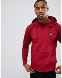 Sweat à capuche imprimé bordeaux Nike