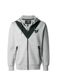 Sweat à capuche imprimé gris Polo Ralph Lauren