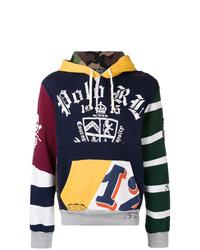 Sweat à capuche imprimé multicolore Polo Ralph Lauren