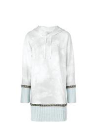 Sweat à capuche imprimé tie-dye gris 3.1 Phillip Lim